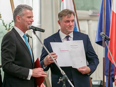 Zaprzysiężenie na Konsula Honorowego Wielkiego Księstwa Luksemburga