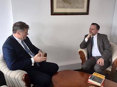 Spotkanie z ambasadorem RP w Luksemburgu